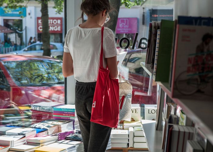Super Salon z książkami