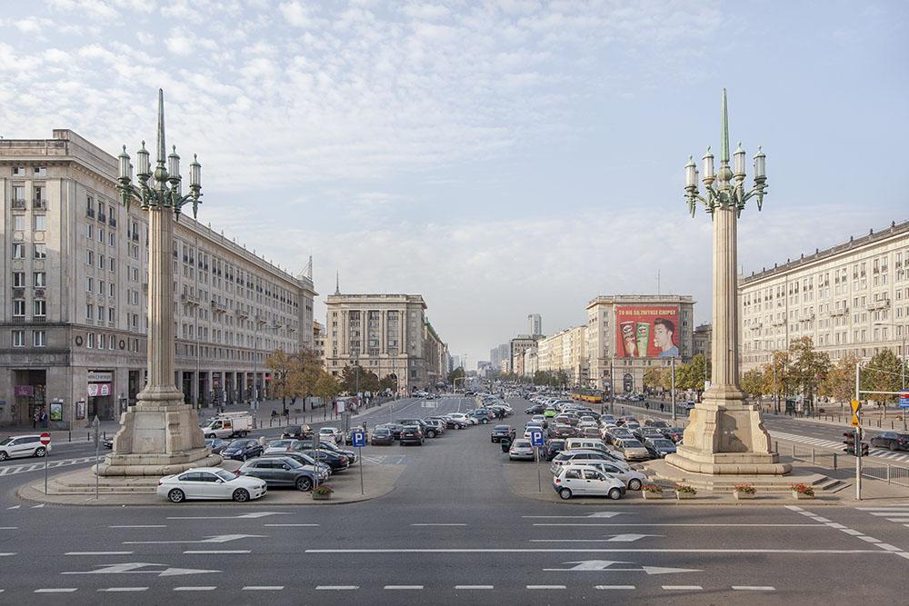 Plac Konstytucji, fot. PION