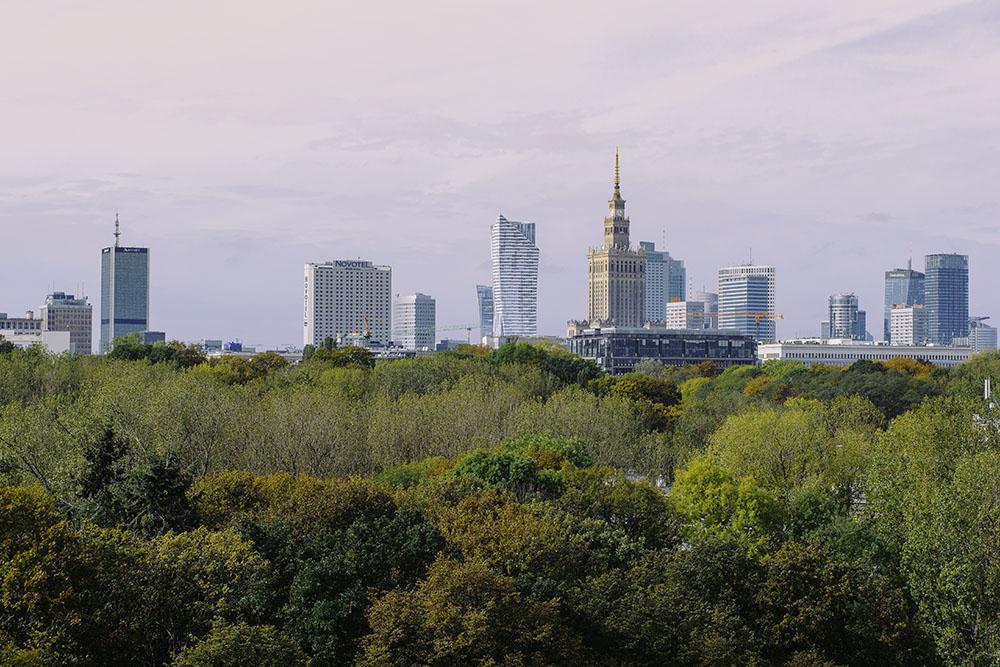 Skarpa Warszawska - park Rydza-Śmigłego