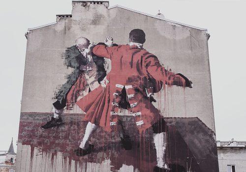Mural Conora Harringtona
