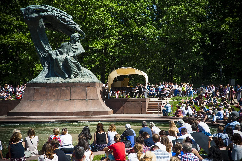 Koncerty Chopinowskie w Łazienkach