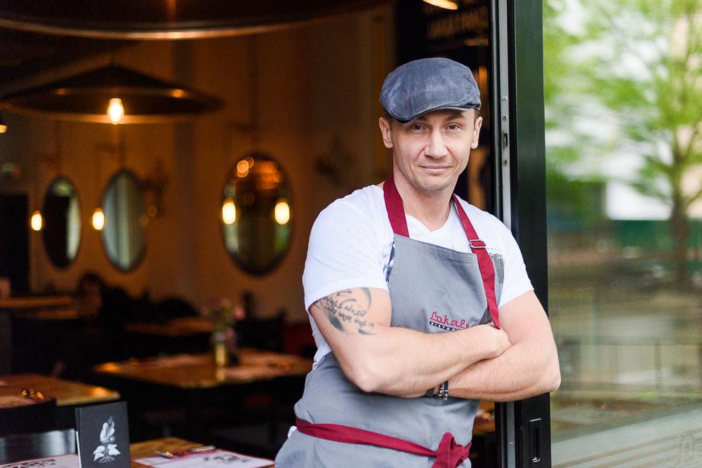 Krzysztof Chełchowski, szef kuchni Lokalnej Bistronomii