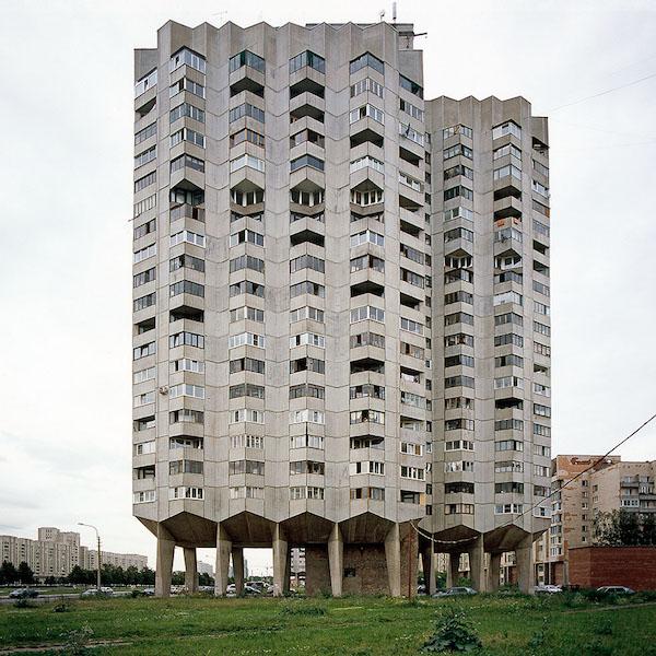 Nicolas Grospierre, Blok mieszkalny, Sankt Petersburg, Rosja, 2007