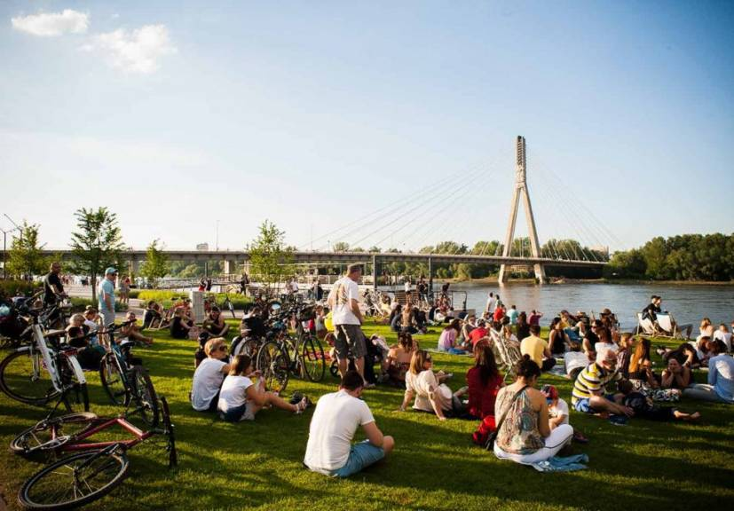 Vistula boulevards full of culture