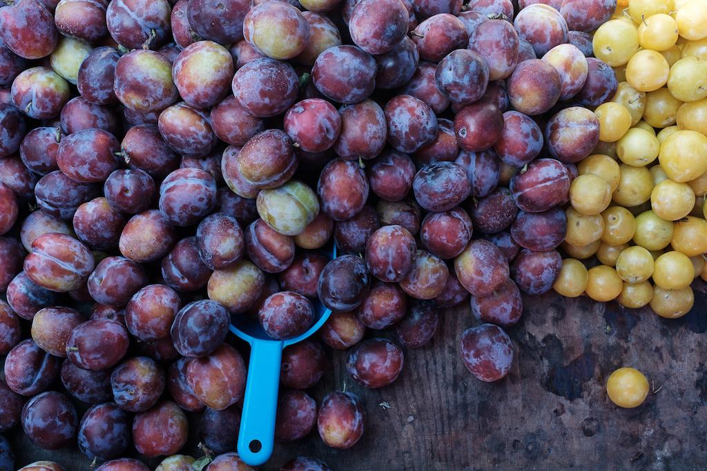 Owoce na Hali Mirowskiej