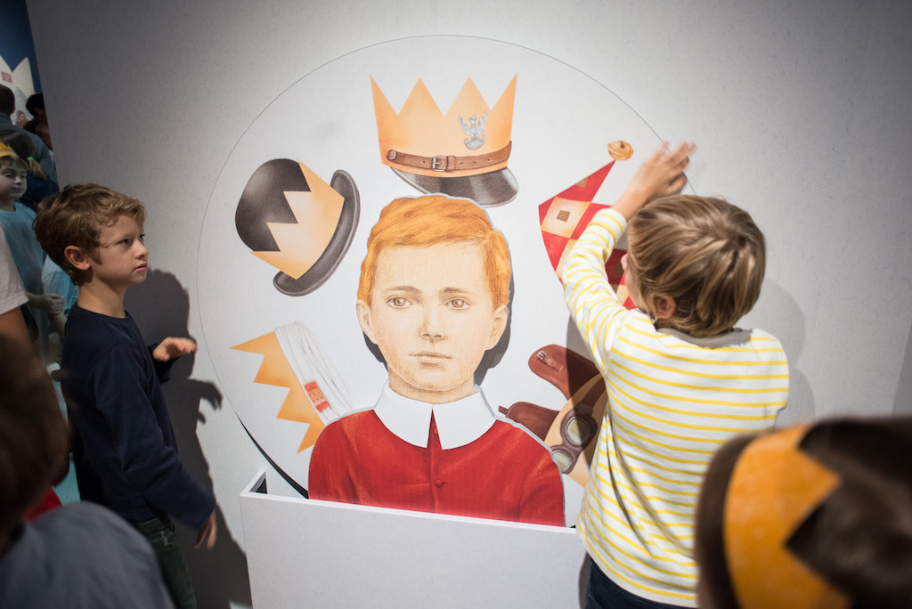 """Wystawa """"W Polsce Króla Maciusia"""" w muzeum POLIN, fot. Maciek Jaźwiecki"""