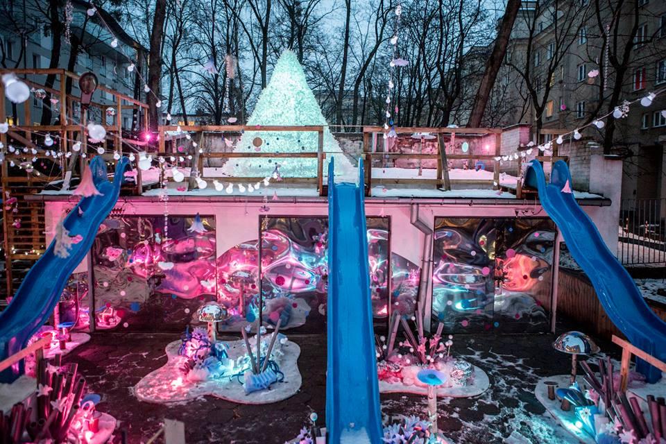 Ogród Zimowy w Wolskim Centrum Kultury