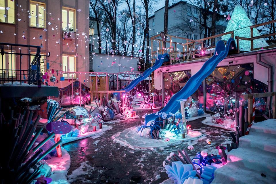 Ogród Zimowy przy Wolskim Centrum Kultury