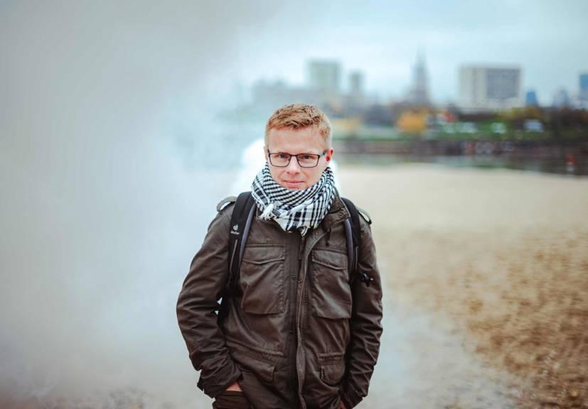Jakub Chełmiński walczy ze smogiem