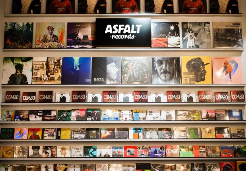 New place: Asfalt Coffee & Vinyl